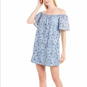 Floral shirt dress by three eighty two